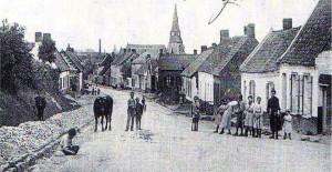 au centre du village