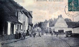 le centre du village au siècle dernier