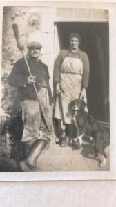 couple BRUNELLEalbert paul françois (en loire atlantique  - le pallet )