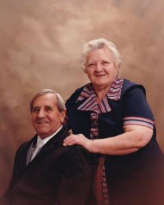 couple BRUNELLE alphonse LOUIS suzanne